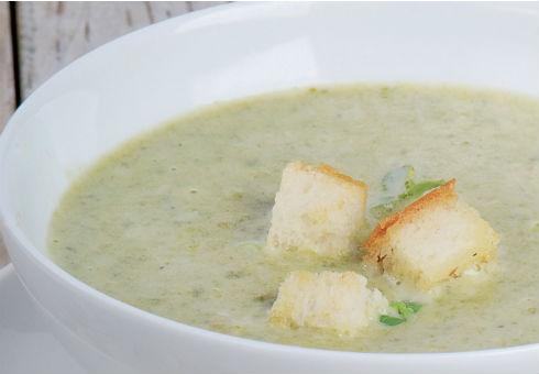 Крем-супа от диви гъби