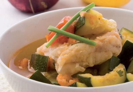 Бърза Средиземноморска рибена супа