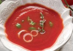 Супа от печени домати